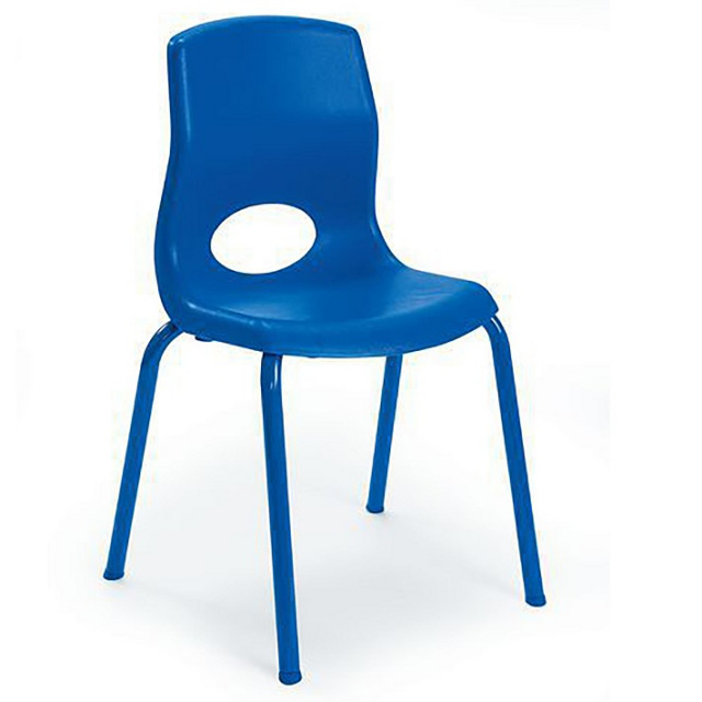 "AB8014 MyPosture Stacking Chairs 14"" - 4 Pack"