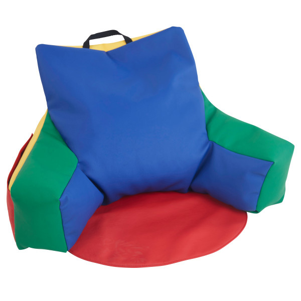 10475-AS SoftScape Relax-N-Read Bean Bag Chair - Assorted