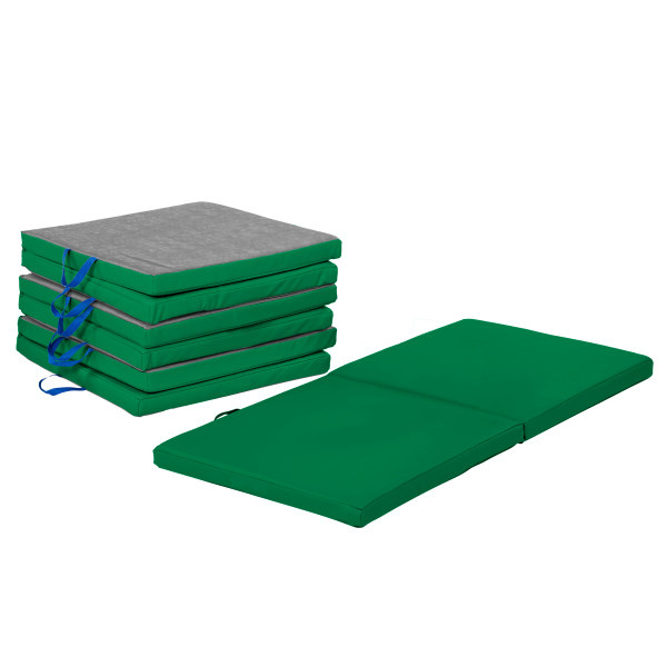 11228-GN SoftScape Bi-Fold Rest Mat 4-Pack - Green
