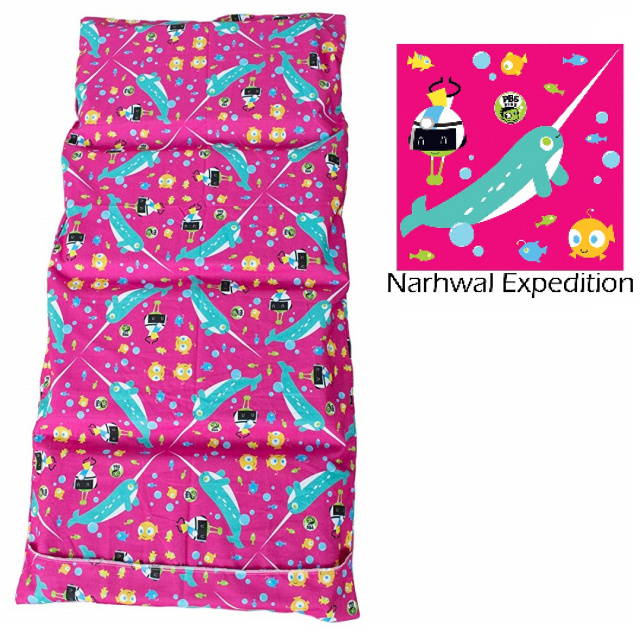 PBS Kids Mat Sheet Narwhal Expedition - 6 Pack