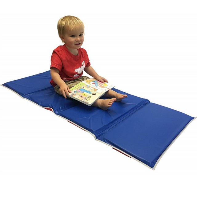 "KM-110 Basic KinderMat Rest Mat 1"" 4-Fold - 6 pack"