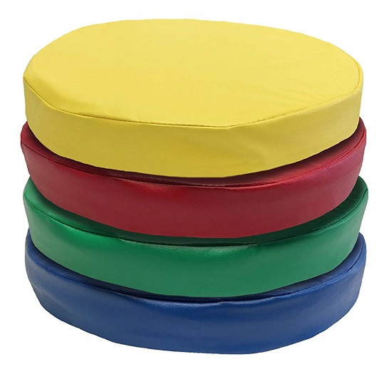 Kindermat Floor Disks Seats 4 Pack