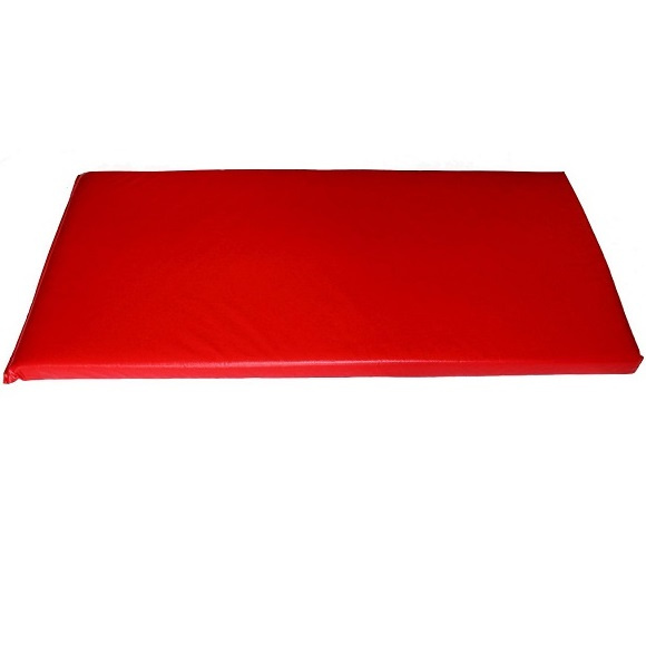 "PP Rainbow Rest Mats 2""  - Red- 8 Pack"