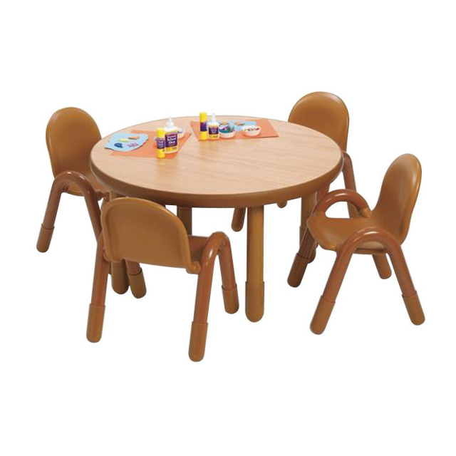 Ab74912nw Baseline Toddler Table 4 Chair Sets Natural