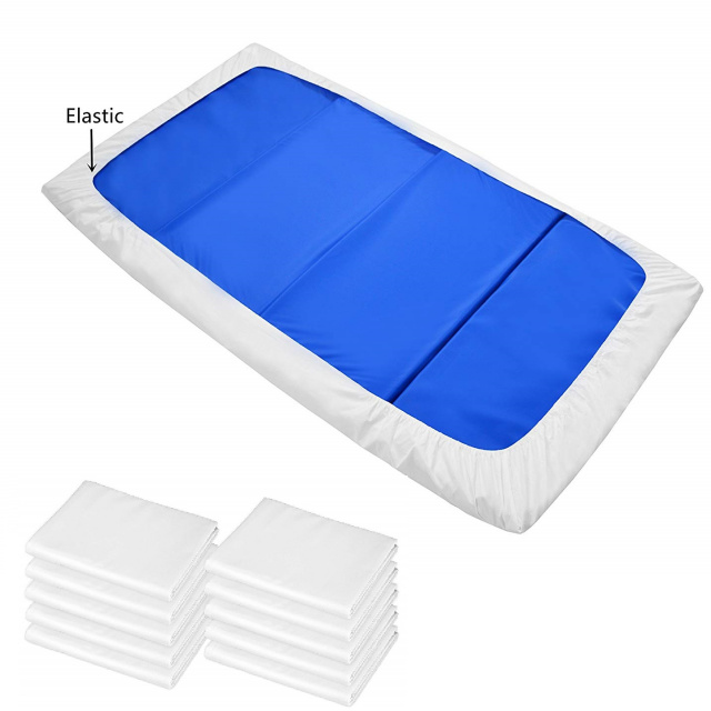 "AM-27653-WT Nap Mat Fitted Sheet - 24"" x 48"" - 10 Pack"