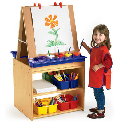 Child Care Kids Art Easels Preschool Big Book Easel