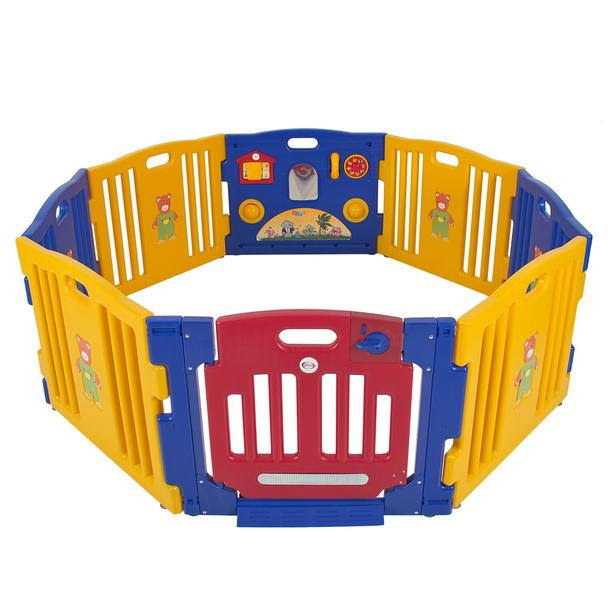BC 8 Panel Safety Play Center - Primary