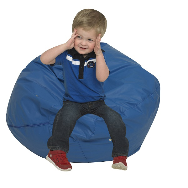 "CF600-084B Foam Bean Bag 26"" - Blue"