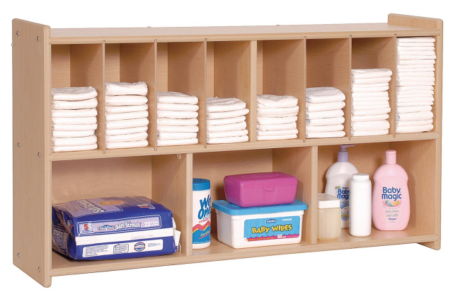 ANG7171 Value Line Wall Diaper Shelf