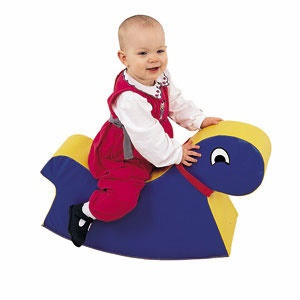 Baby Rocky Ride On Blue 331-063