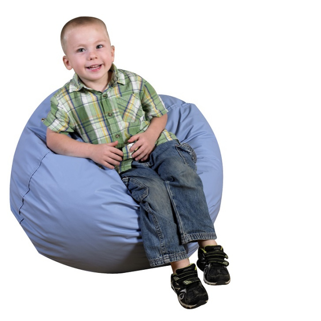 "CF600-094 Foam Bean Bag 26"" - Sky Blue"