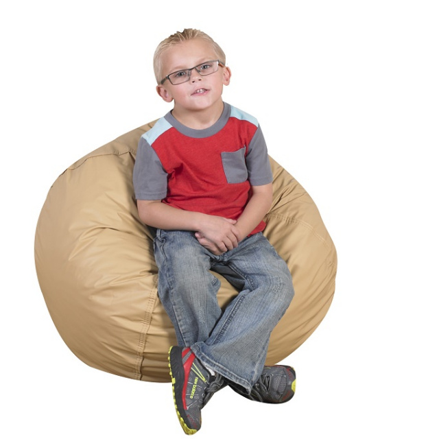"CF600-095 Foam Filled Bean Bag 26"" - Almond"