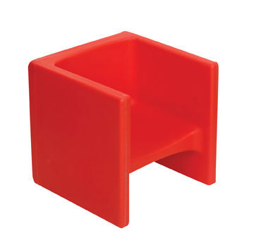 CF910-008 Chair Cube - Red