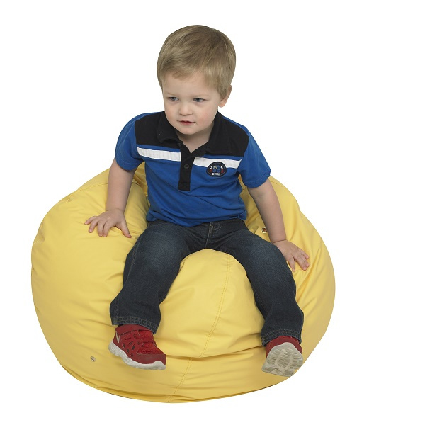 "CF600-084Y Foam Bean Bag 26"" - Yellow"
