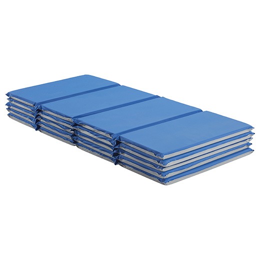 "ELR-0881 Value Folding Rest Mat 4-Section 1"" - 5 Pack"
