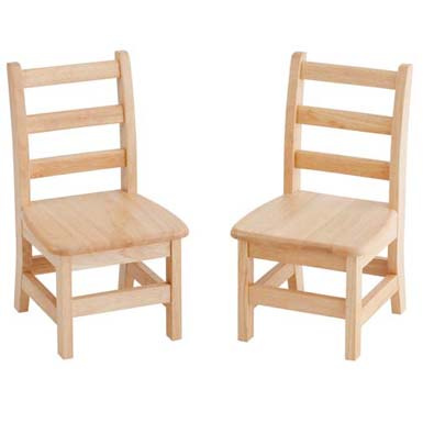 "ELR-15316 Ladderback Chairs 10"" - 2 Pack"