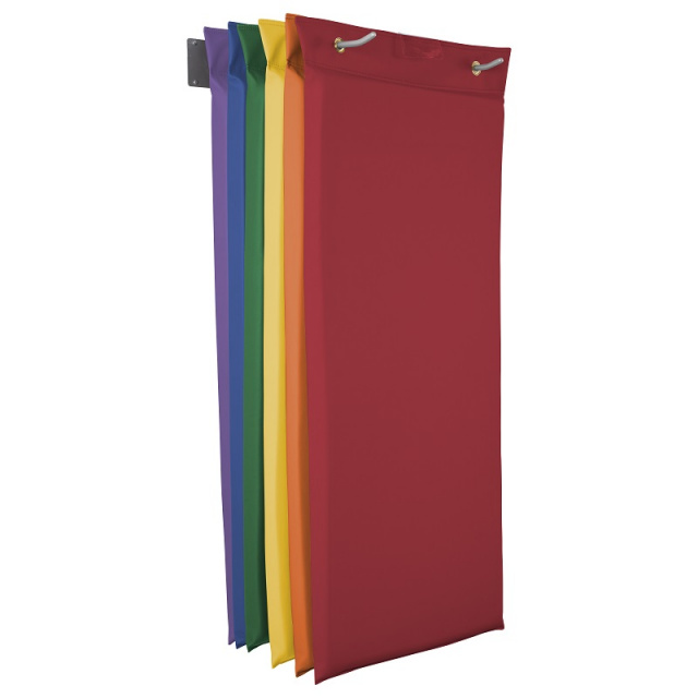 10499-AS Hanging Rest Mats w/ Mount - Assorted 6 Pack