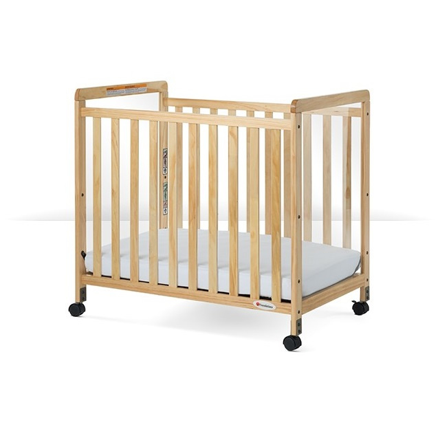 1632040 SafetyCraft Compact-Size Fixed-Side Crib Clearview Headboard