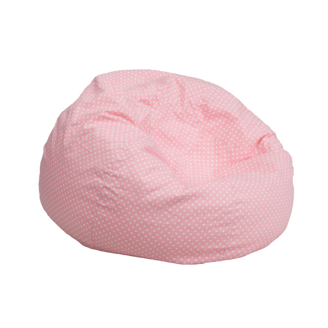 FF Kids Bean Bag Chair Small - Pink Dot
