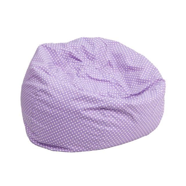 FF Kids Bean Bag Chair Small - Purple Dot