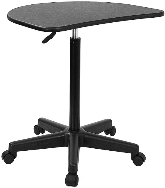 FF Mobile Laptop Computer Desk Black NAN-JN-2792-GG