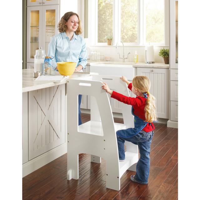 G97328 Step Up Kitchen Helper White