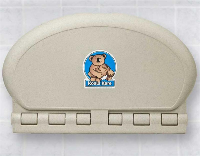 KB208-14 Koala Oval Baby Changing Station - Sandstone