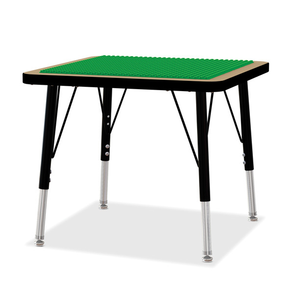 5719JCE Adjustable Building Table - Preschool Bricks