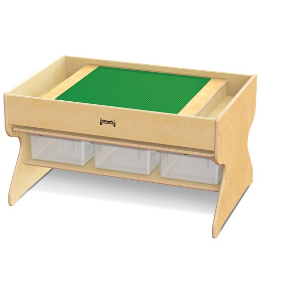 5726JC Jonti-Craft Deluxe Building Table with Lid