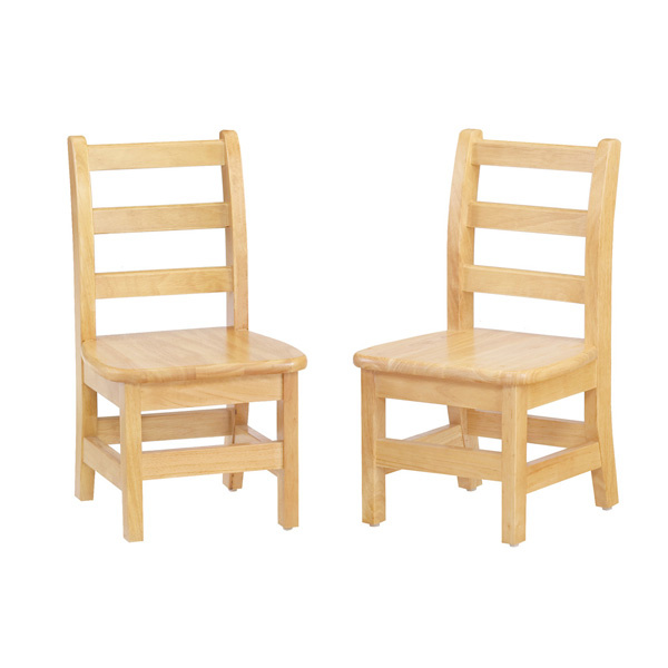 "5912JC2 KYDZ LadderBack Chair 12""  - 2 Pack"