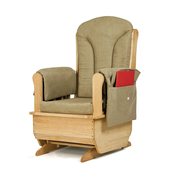 Jonti Craft Glider Rocker Olive Cushions