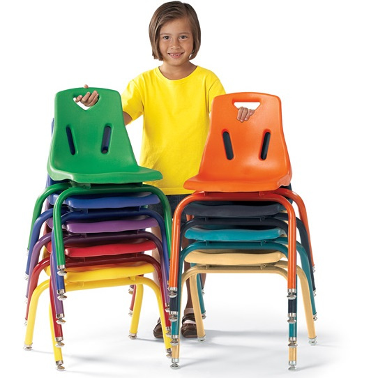 "8124JC6 Berries 14"" Chair with matching leg (6 Pack)"