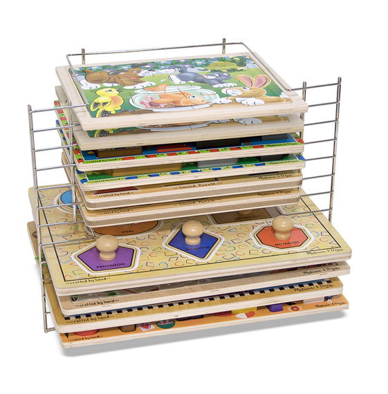 1525 Deluxe Wire Puzzle Rack