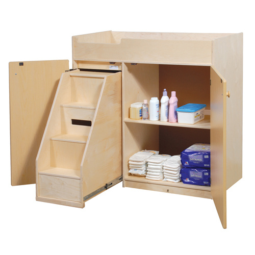 ANG1039S Changing Table with Steps