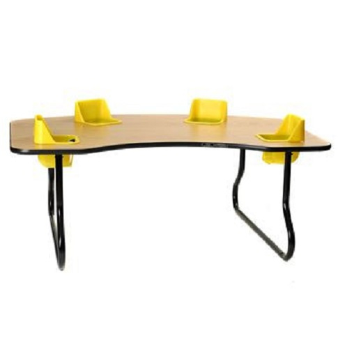 c8774d88b 4 Seat Toddler Tables - Feeding Table