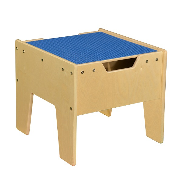 C991300-B Activity Table w/ LEGO Top - Blue