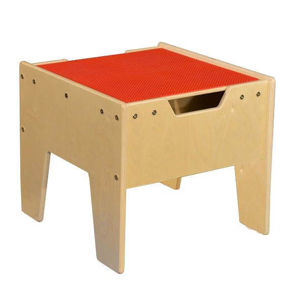 C991300 R Activity Table W/ LEGO Top   Red