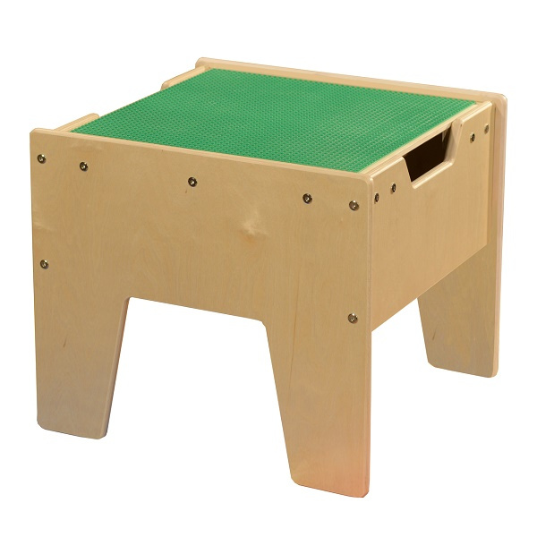C991300-G Activity Table w/ LEGO Top - Green