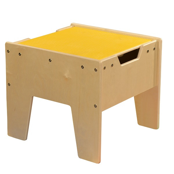 C991300-Y Activity Table w/ LEGO Top - Yellow