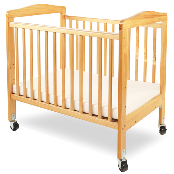 WC-510A-N Compact Non-folding Wooden Window Crib
