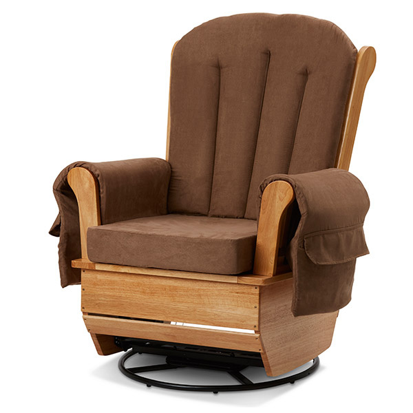 HG-13881-NWC LA Baby Glider Rocker - Brown  sc 1 st  Daycare Furniture Direct & Baby Rocker Glider Nursery Rocking Chairs Commercial Gliders ...