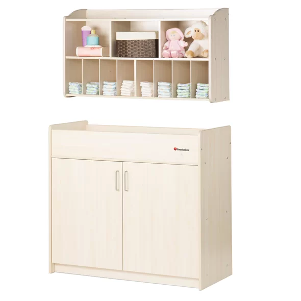 SafetyCraft 2 Piece Changing Table Set