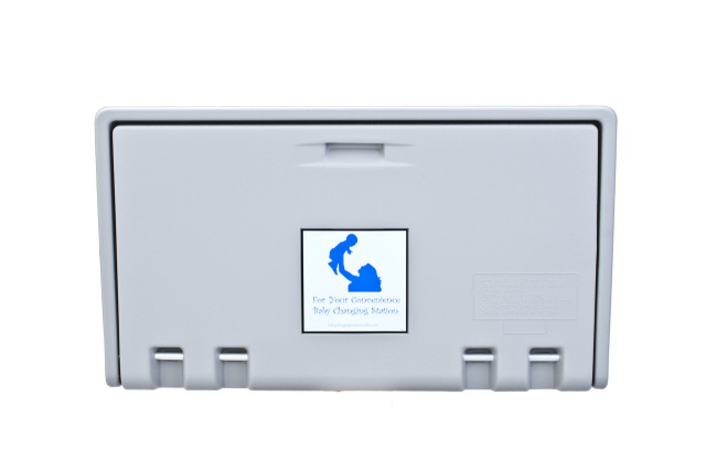 HD-AHD100-01 Baby Changing Station - Grey Horizontal