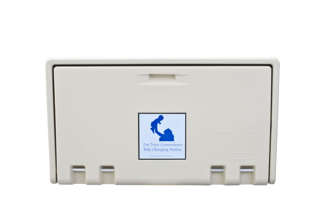 HD-AHD100-00 Baby Changing Station - Cream Horizontal