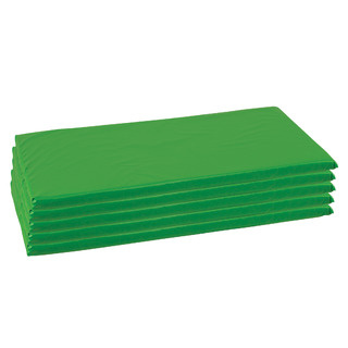 "ELR-0573-GN Rainbow Rest Mats 2"" - 5 Pack - Green"