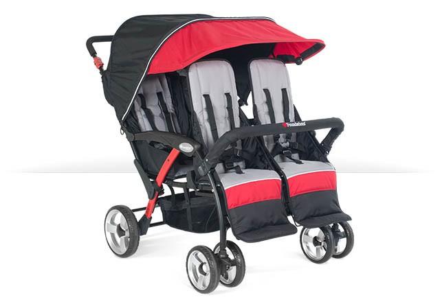 Quad Stroller 4 Seat Stroller Bye Bye Stroller 6 Seat