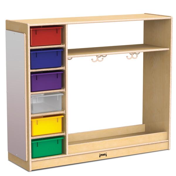 0909jc Dress Up Storage W Colored Tubs