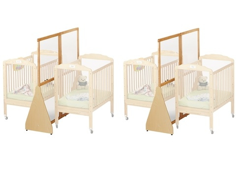 1655JC/2pk Jonti-Craft See-Thru Large Crib Divider 2-Pack