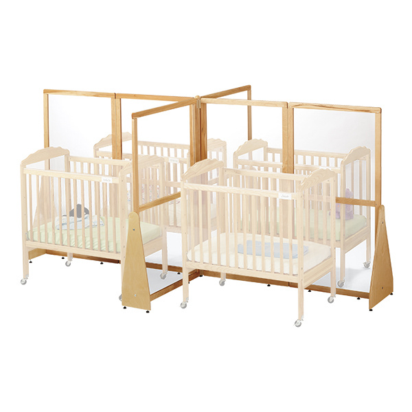1653JC Jonti-Craft See-Thru Quad Crib Divider