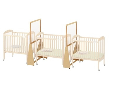 1654JC/2pk Jonti-Craft See-Thru Small Crib Divider 2-Pack